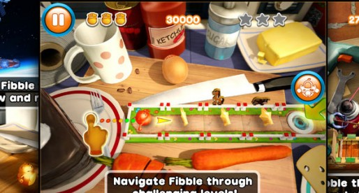 Fibble HD 1.0.2: Stranded in the kitchen
