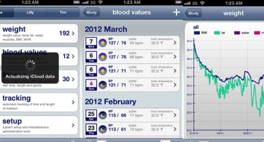 iBody 5.0: Fitness Manager for the iPhone