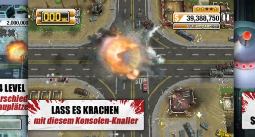 Burnout Crash 1.0.0: Absolute traffic chaos