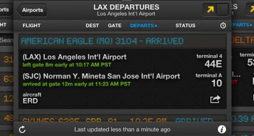 FlightBoard 1.2: The display board at the airport