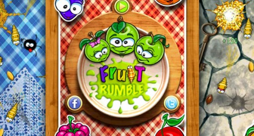 Fruit Rumble 1.1: Hungry crawlers vs. the fruit bowl