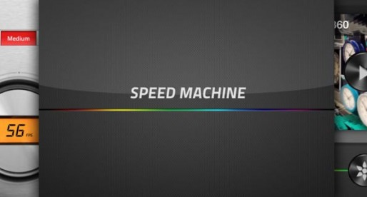 SpeedMachine 1.3: And now in slow motion!