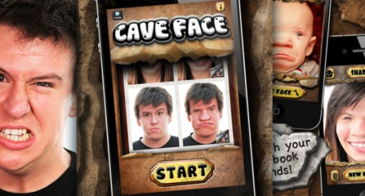 Caveface 1.0: Turn yourself into someone from the stone ages!