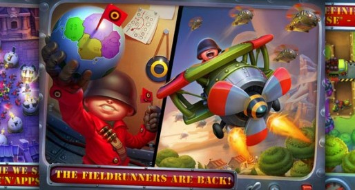 Fieldrunners 2 1.0: Save the world!