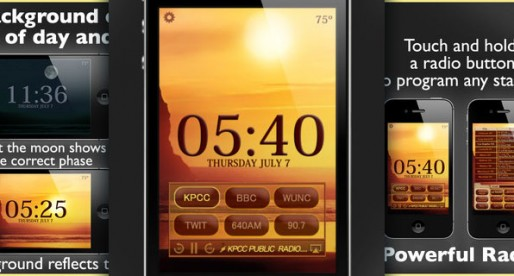 Beautiful Clock Radio 2.5: Have you looked at the clock?