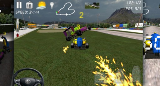 RaceRally 3D 1.0: Car racing even in the rain