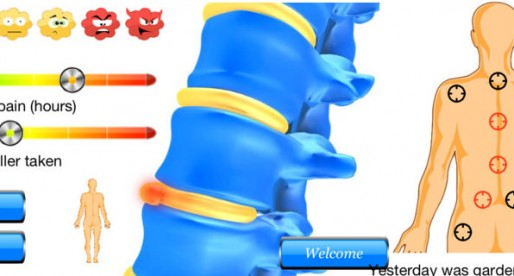 Back pain diary easy 1.1: Public health enemy number one