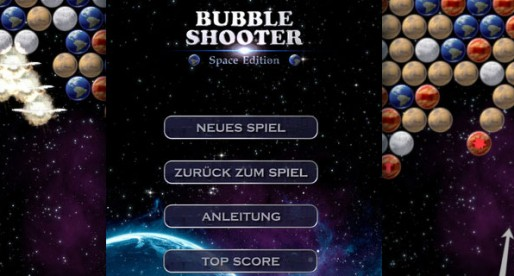 Bubble Shooter Space Edition 1.0: exploding planets