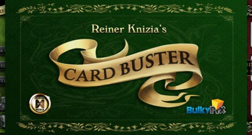 Reiner Knizia: Card Buster 1.0: a different game of poker