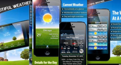 Beautiful Weather 3.1: A weather report that's second to none!