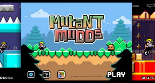 Mutant Mudds 1.0.0: Mud monsters from outer space