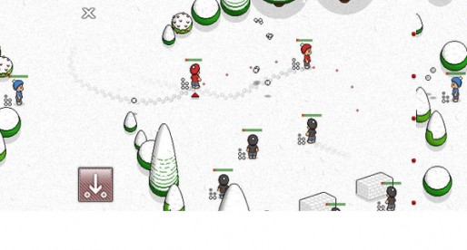 Snow Fight 1.1.2: Let's have a snowball fight!