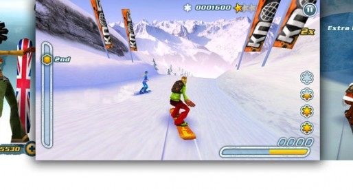 Snowboard Hero 1.5: Down the slope it goes!
