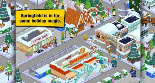 The Simpsons: Springfield 4.0.0: Christmas after the nuclear crisis