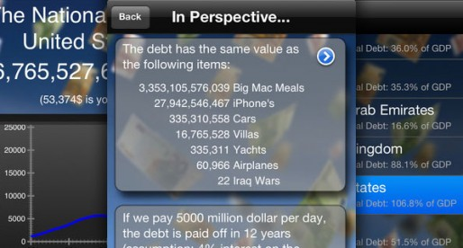 National Debt 3.2: The national debts of 180 countries