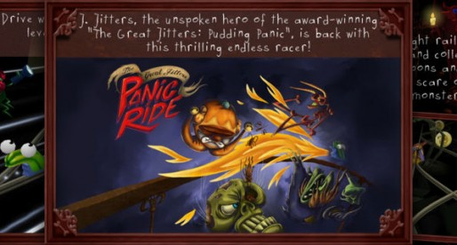 The Great Jitters: Panic Ride 1.2: The slimy rollercoaster