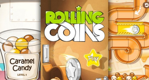 Rolling Coins: Here comes the candy!