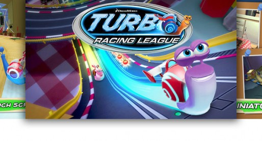 Turbo Racing League: Watch out for some really speedy snails!