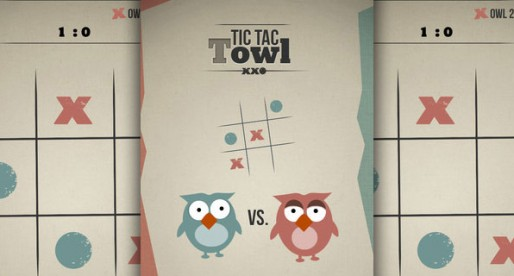 TicTacTowl free strategy game: Three fields – one opponent