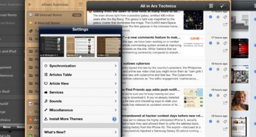 Mr. Reader: Perfect for news junkies and iPad owners