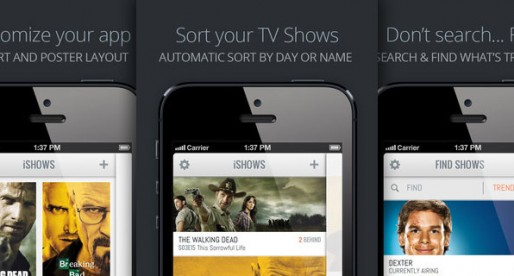 iShows: Manage your favorite shows