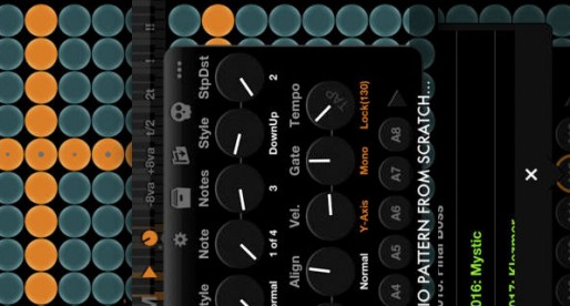 Arpeggionome for iPhone: Music for sound engineers