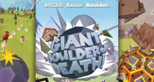 Giant Boulder of Death: Endless Runner with a difference