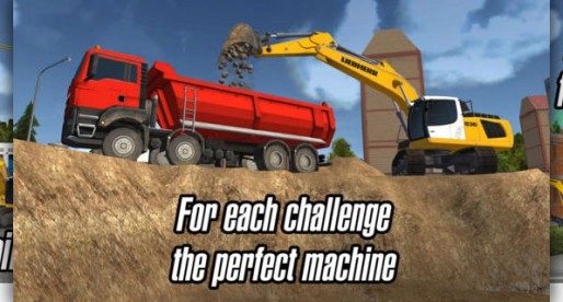 Construction Simulator 2014: Get out the excavator!