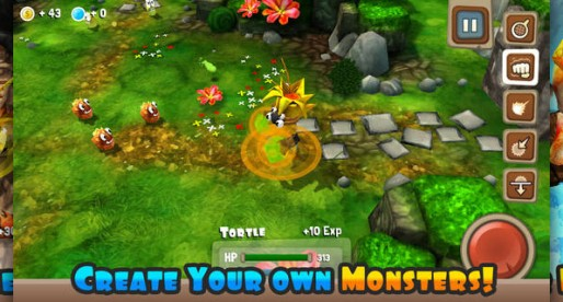 Monster Adventures: Fights, a treasure hunt and cute monsters