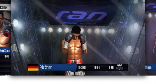 Ran Real Boxing by Felix Sturm: Ready, steady, fight!