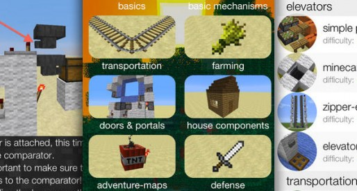 iRedstone: An ideal app for Minecraft players