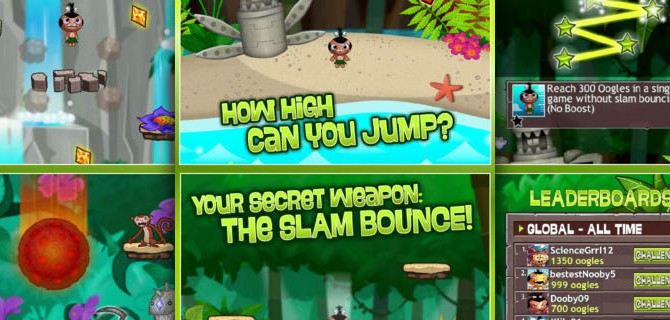 Pocket God: Ooga Jump – Help your pygmy to come up in the world