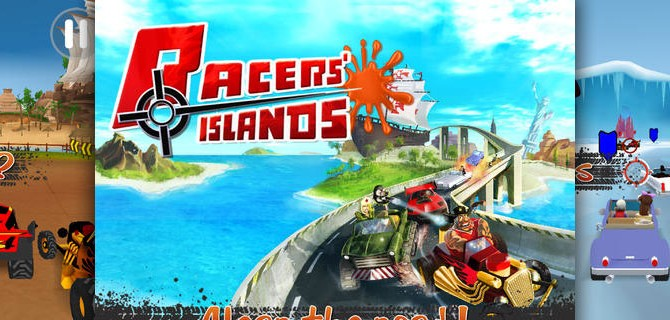 Racers Islands: Racing and shooting through awesome scenery