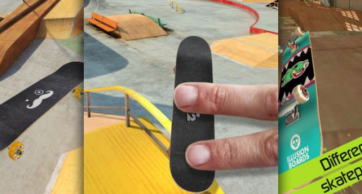 Touchgrind Skate 2: Skillful fingers is what you need on this skateboard