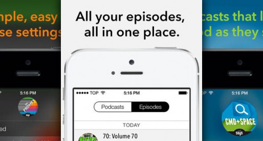 Castro – High Fidelity Podcasts: Probably the trendiest Podcast App in the Store
