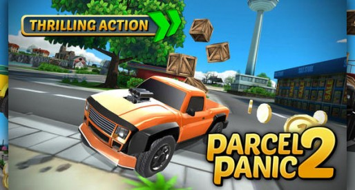 Parcel Panic 2 – Post Car Racing: Fuel-efficient package delivery