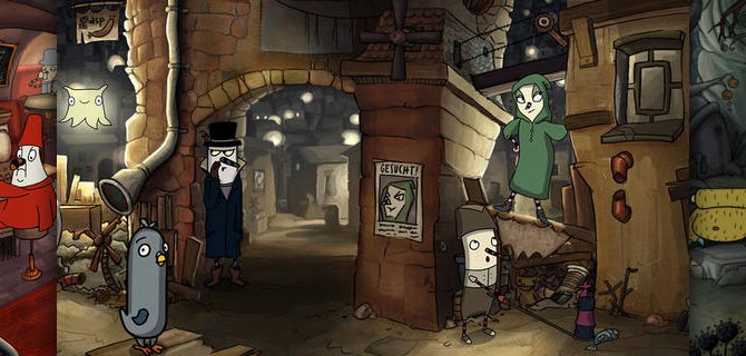 The Inner World: Beautifully animated Point and Click Adventure