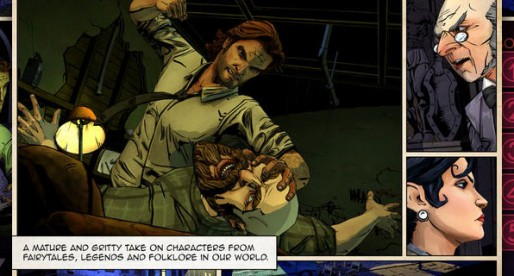 The Wolf Among Us: Interactive and gloomy fairy tale comic