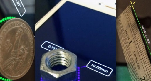 iMeasure: Measure objects on your iPhone screen