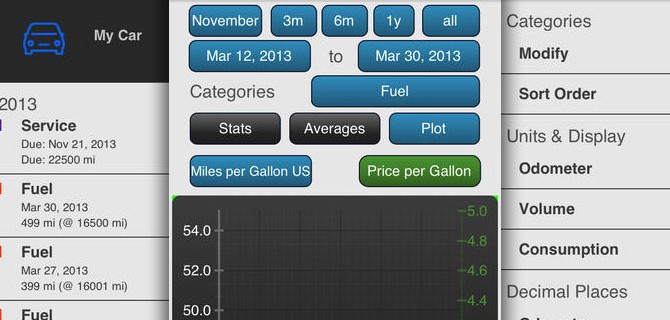 Fuel Log Evo – Vehicle Cost Management: Car management made easy