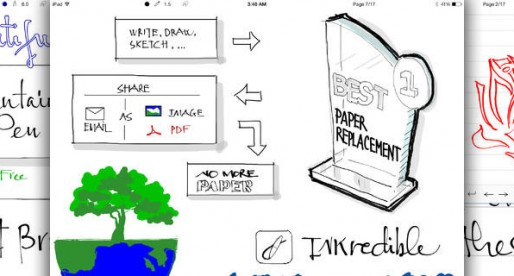 INKredible: Write and draw to your heart's content on the iPad