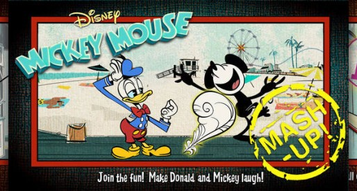 Mickey Mouse: Mash-up – Interactive adventure and drawing fun