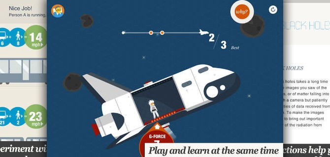 Stephen Hawking's Snapshots of the Universe: A playful way to get familiar with the principles of physics