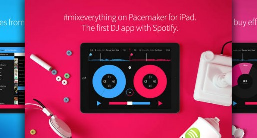 Pacemaker also mixes Spotify songs