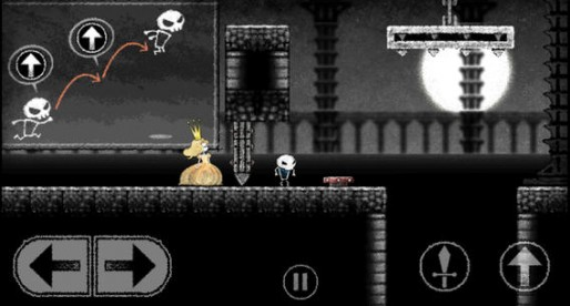 Dokuro: A skeleton, a princess and a gloomy action tale