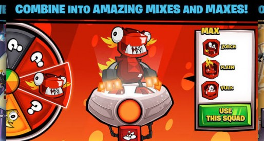 Mixels Mission: Funny characters combine their skills