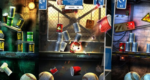 Can Knockdown 3: Knocking down cans can be exciting