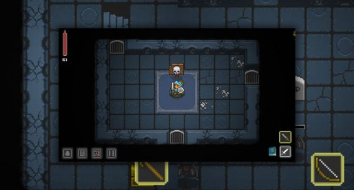 Quest of Dungeons: Round-based Dungeon Crawler in pixel optic