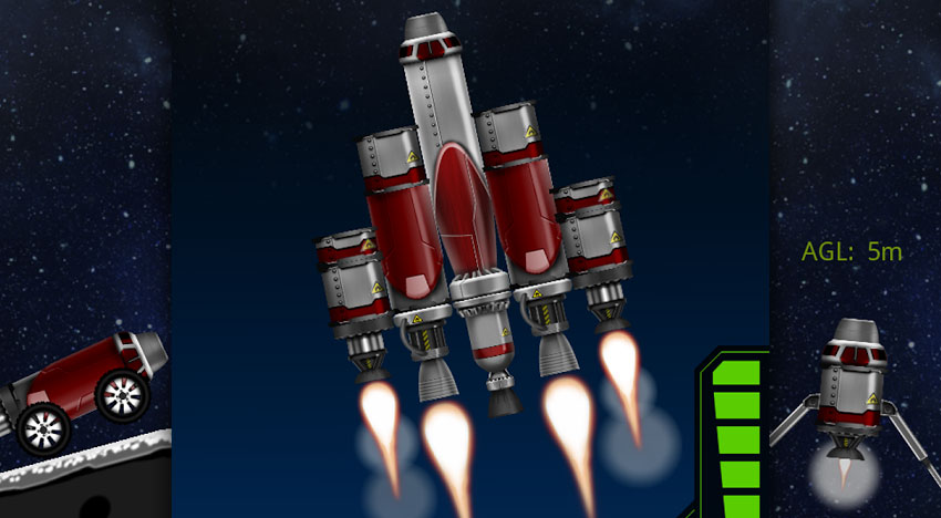 SimpleRockets: Build your own rocket!