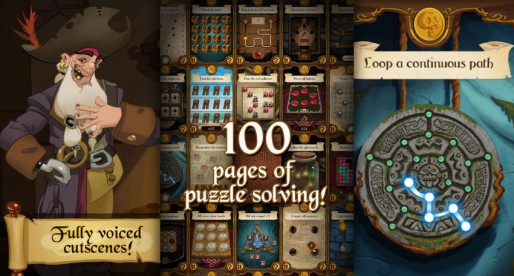 The Voyage: Solve 100 puzzles and discover the pirate's treasure